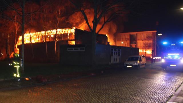 Grote branden in meerdere steden op oudejaarsnacht