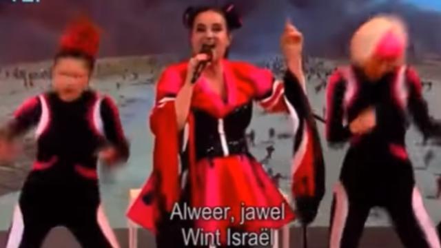 Buitenlandse media schrijven over 'Israëlparodie' in Sanne Wallis de Show