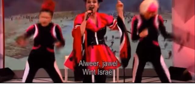 Israëlische ambassade dient klacht in over satirisch lied in Sanne Wallis de Show