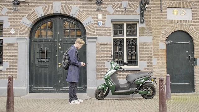 Deelscooterbedrijf haalt geld op voor lancering in Amsterdam