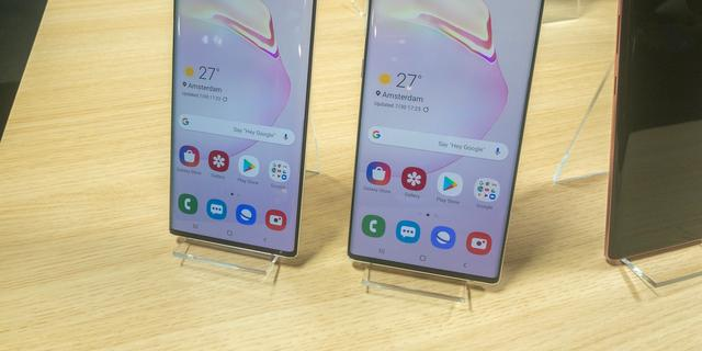 Samsung presenteert twee versies van de Galaxy Note 10