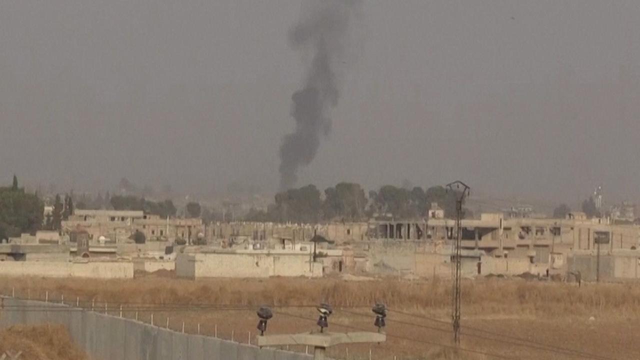 Turkije voert luchtaanvallen uit in Syrië