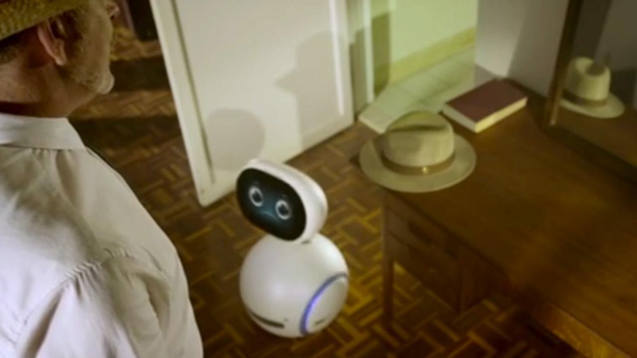 Huishoudrobot Zenbo kan lopen en praten