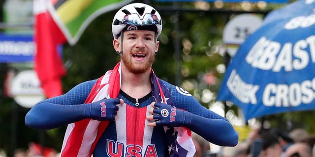 Schorsing wielrenner Quinn Simmons voor 'opruiende tweets' opgeheven