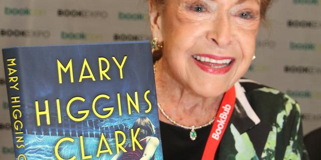 Bestsellerauteur Mary Higgins Clark op 92-jarige leeftijd overleden