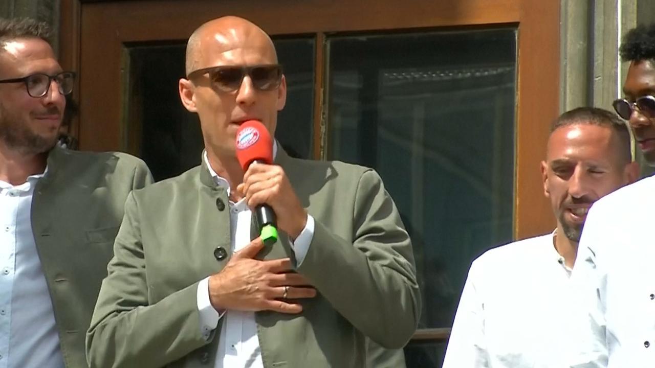 Arjen Robben neemt na 10 jaar afscheid van Bayern München
