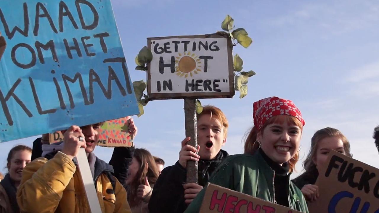 'Klimaatspijbelaars': 'Als ze niet luisteren, spijbelen we opnieuw'