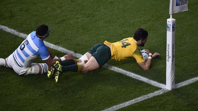 WK rugby stuwt omzet cateraar Sodexo
