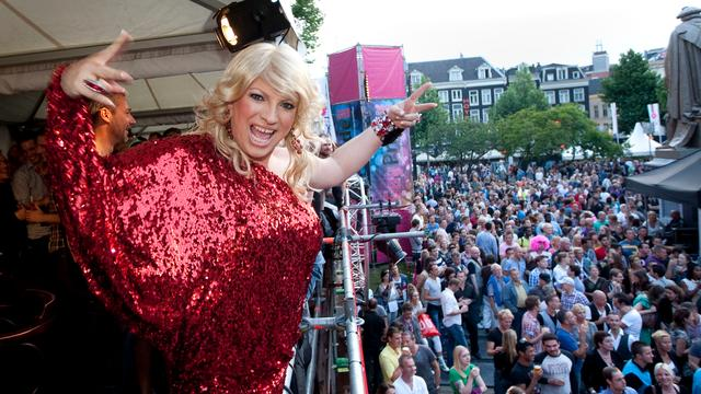 Diva Mayday boos over concertregistratie Human Rights Concert