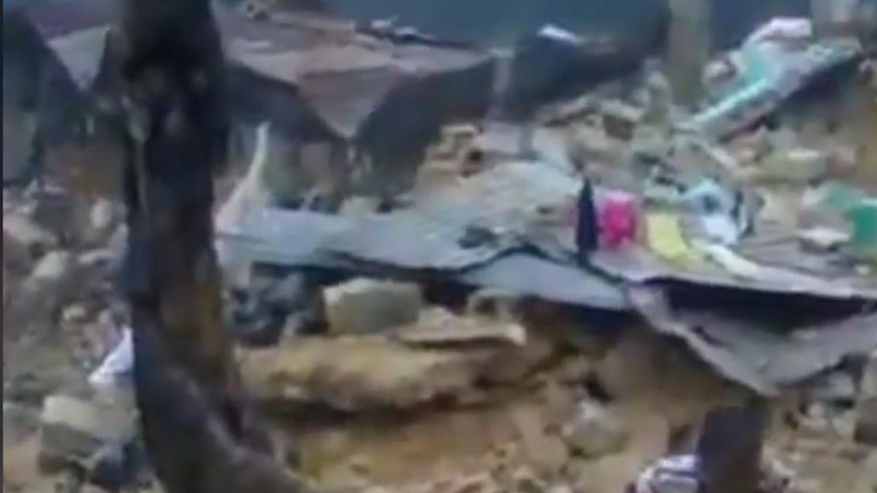 Zware aardbeving laat ravage achter op Haïti