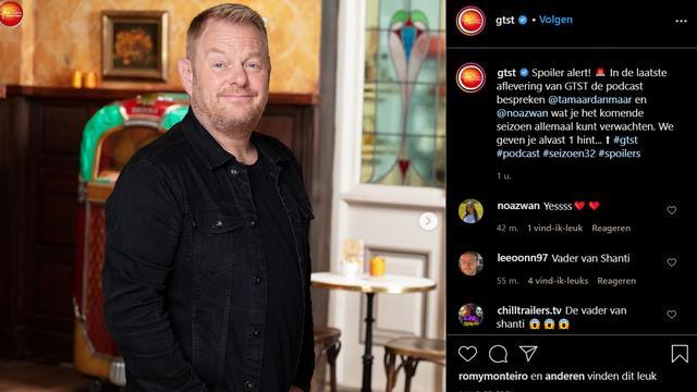 Martijn Fischer is zeer binnenkort te zien in Goede Tijden, Slechte Tijden. (Foto: Instagram/GTST)