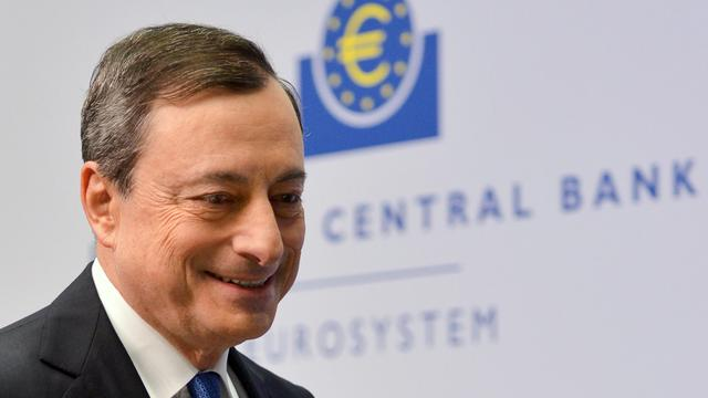 ECB minder optimistisch over economische groei