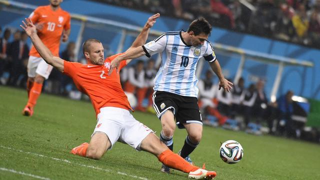 Op het WK van 2014 speelde Vlaar met Oranje in de halve finale tegen het Argentinië van Lionel Messi. Nederland werd uitgeschakeld, mede door een gemiste strafschop van Vlaar.