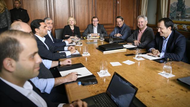 Gesprekken over hereniging Cyprus hervat in Zwitserland