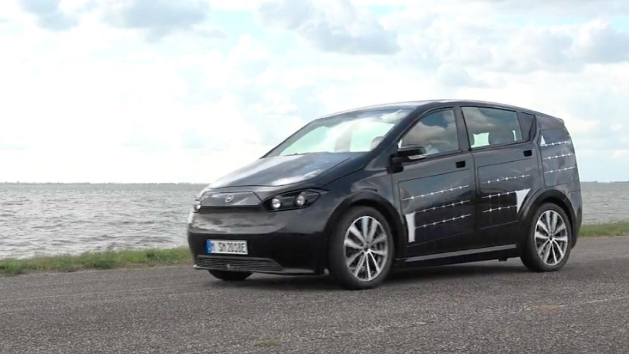 Eerste Rijtest Sono Sion Een Elektrische Auto Met Zonnecellen Nu