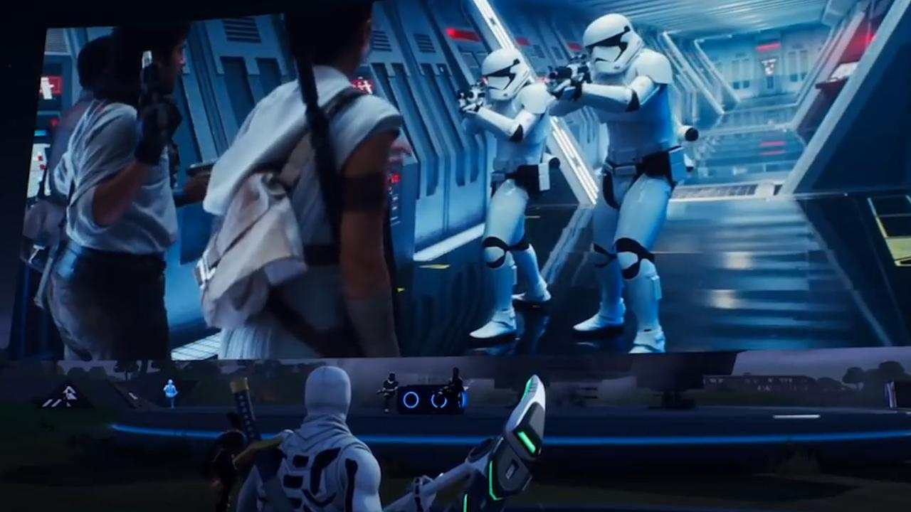 Fortnite-spelers missen live première Star Wars door inlogproblemen