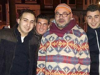 Mohammed VI in Amsterdam voor privébezoek