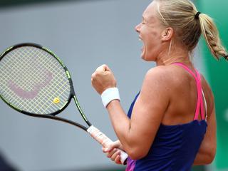 Wateringse eerste Nederlandse vrouw bij laatste acht Grand Slam sinds 2007