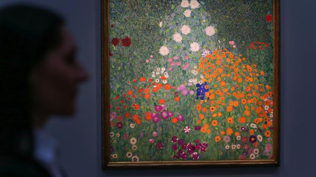 Schilderij Gustav Klimt voor recordbedrag van 56 miljoen euro verkocht