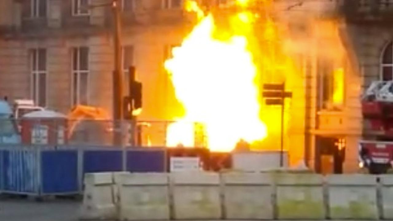 Flinke brand voor hotel bij Amsterdam Centraal