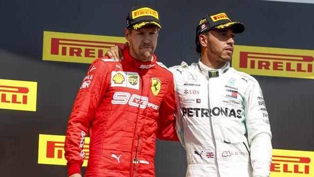 Hamilton neemt het op voor 'formidabele tegenstander' Vettel