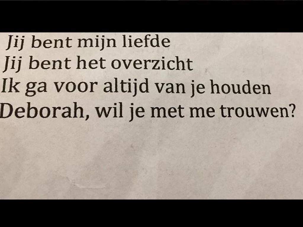 Martijn Krabbe Vraagt Vriendin Deborah Ten Huwelijk Nu
