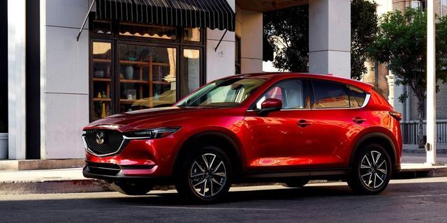 Technische wijzigingen Mazda CX-5