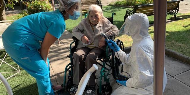 111-jarige Chileense coronapatiënte genezen verklaard