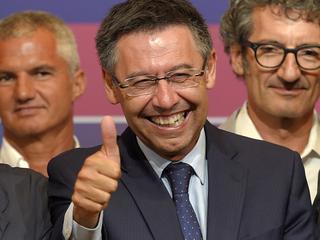 Bartomeu kan zijn geluk niet op na het winnen van de presidentsverkiezingen