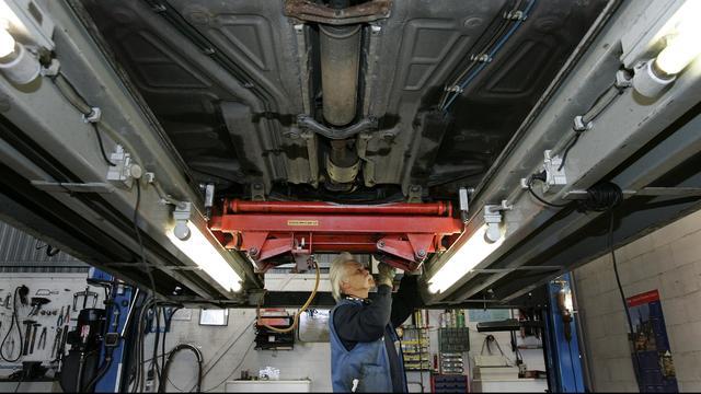 Aantal garagebezoeken voor onderhoud bereikt record in 2017