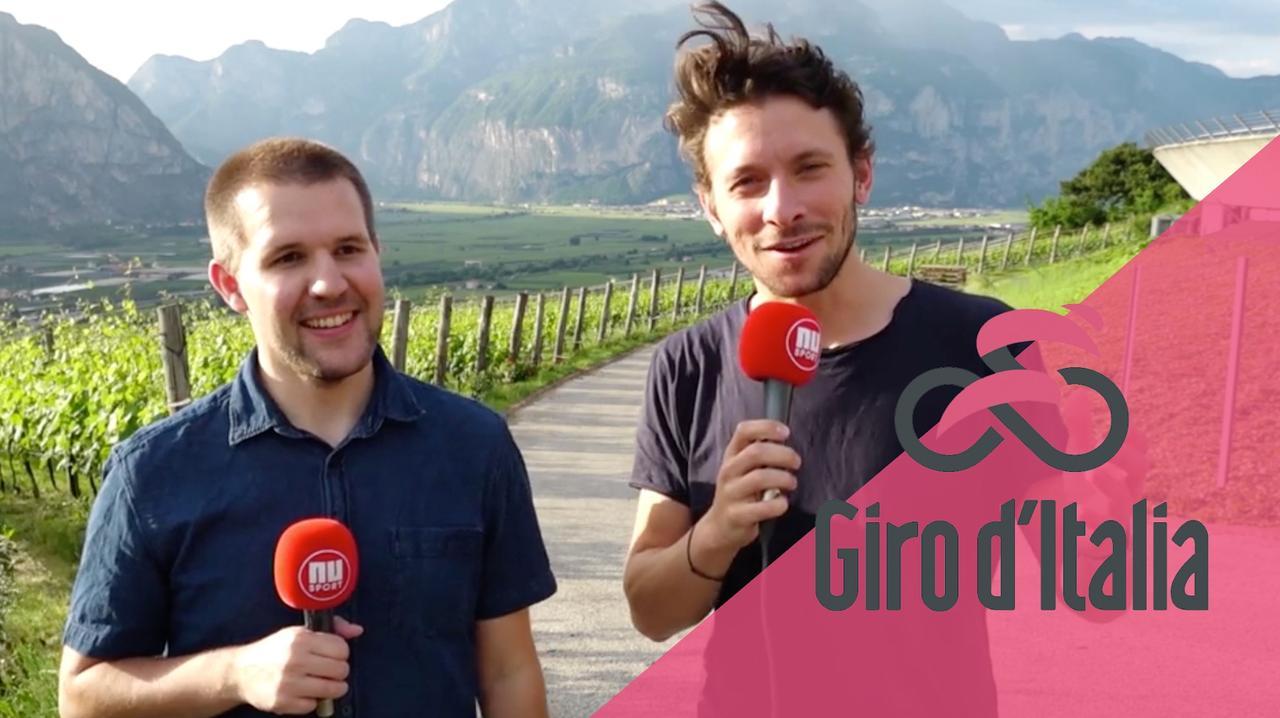 Giro rit 16: 'Dumoulin moet in tijdrit hopen op Hollandse tegenwind'