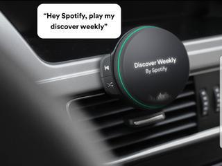 Spotify-speaker in auto zou assistent Alexa ondersteunen