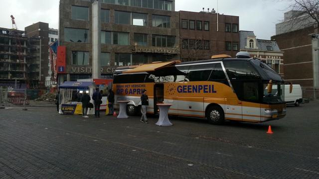 Geenpeil voert campagne tegen associatieverdrag Oekraïne in Leiden