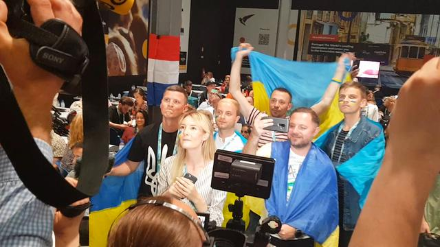 Oekraïense pers viert optreden uitbundig