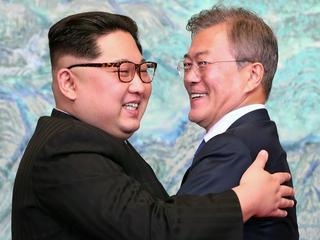 Historisch treffen Koreaanse leiders wekt internationaal voorzichtige hoop op
