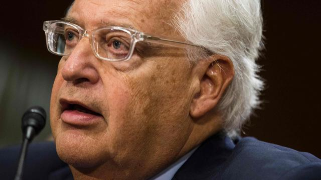 Senaat stemt in met benoeming rechtse ambassadeur VS in Israël