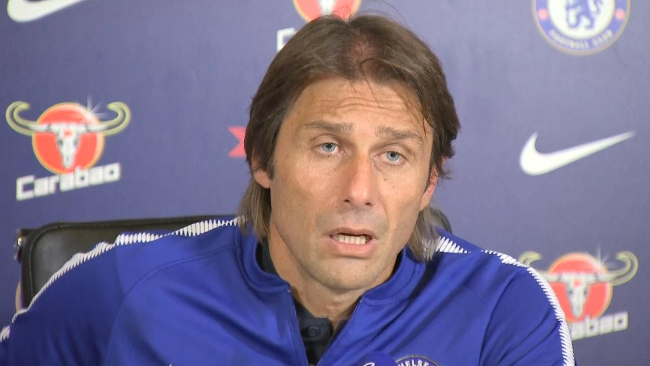 Chelsea-coach Conte boos om speculaties omtrent ontslag