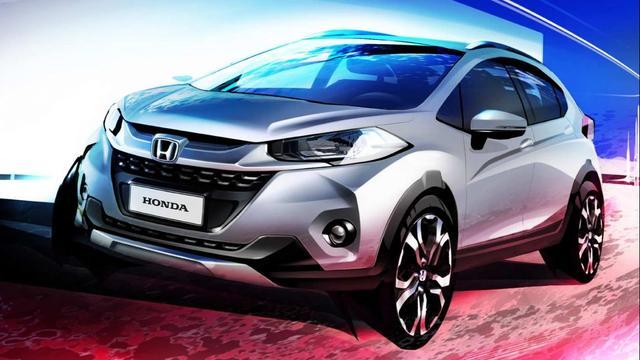 Honda WR-V geschetst