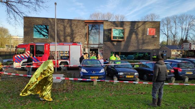 Brand bij opvanglocatie Leger des Heils in Utrecht