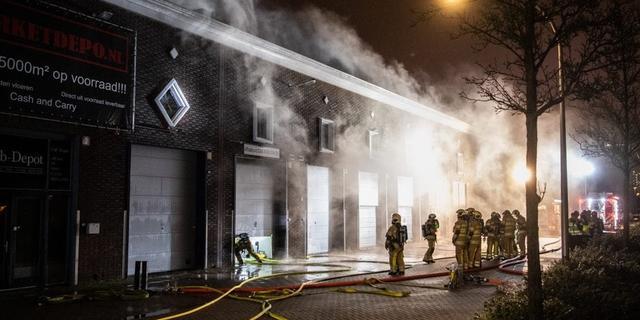 Brand meester bij grote brand in monumentaal pand in Utrecht
