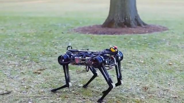 Cheetah-robot loopt op 'gevoel' zonder camerabeelden