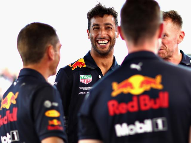 Ricciardo sluit McLaren of Renault niet uit ondanks spoedig aanbod Red Bull