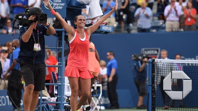 Vinci spreekt van 'magisch moment' na winst op Serena Williams