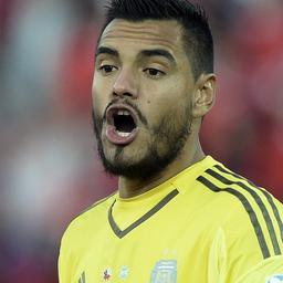 Argentijnse doelman Sergio Romero mist WK door knieblessure