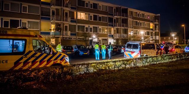 Auto crasht op Schipholweg in Haarlem, twee inzittenden gevlucht