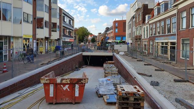 Korevaarstraat langer dicht door vertraging bij Garenmarktgarage