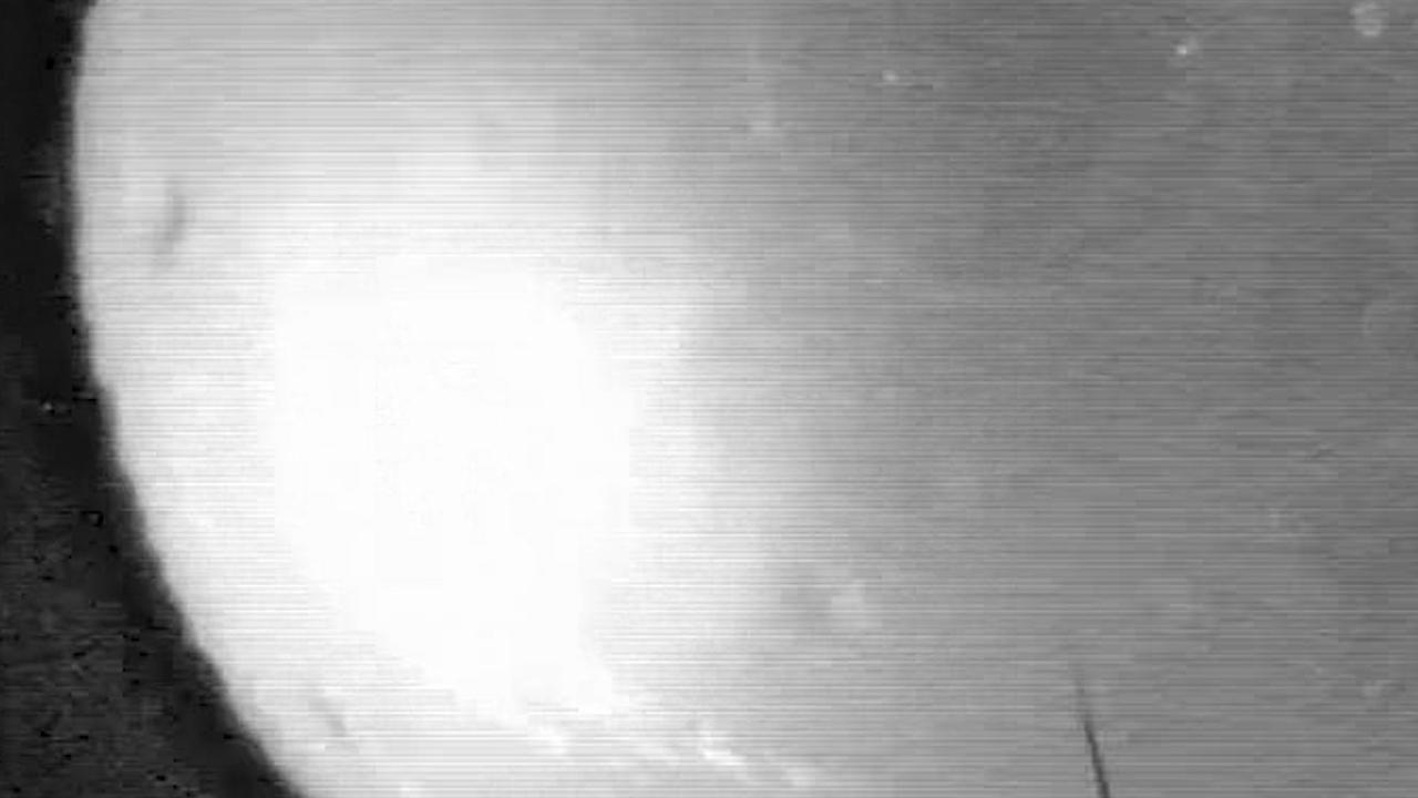 Meteoor verlicht hemel boven Alabama