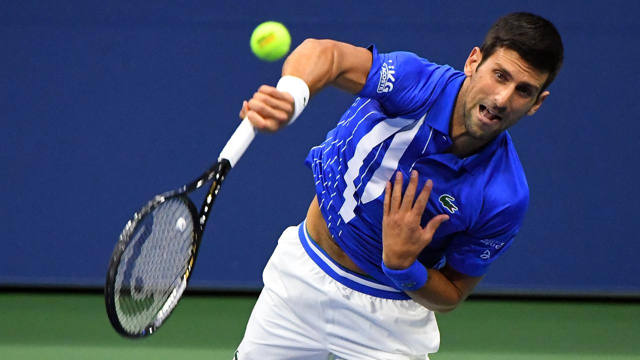 Djokovic Disqualified From Us Open After Hitting The Ball Against A Line Judge Teller Report