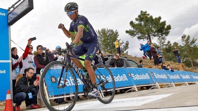 Ritwinst Quintana in Ronde van Valencia na solo op moordende slotklim