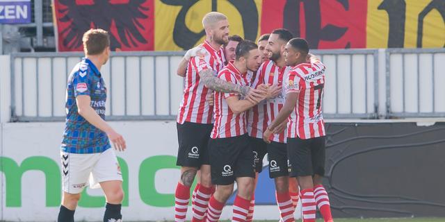 Sparta haalt uit tegen Go Ahead en klimt naar plek twee in Eerste Divisie